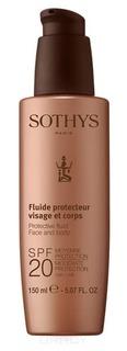 Sothys, Молочко с SPF20 для лица и тела, 150 мл