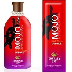Emerald Bay, Двойные бронзаторы Mojo Dark Bronzing Sauce, 15 мл