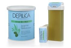 Depilica, Теплый воск с маслом Оливы Депилика Olive Oil Warm Wax, 100 мл