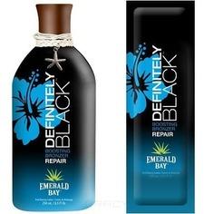 Emerald Bay, Бронзатор нежный ананас Definitely Black для всех типов кожи , 15 мл