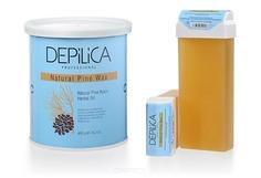 Depilica, Теплый воск с сосновой смолой Natural Pine Warm Wax, 800 гр