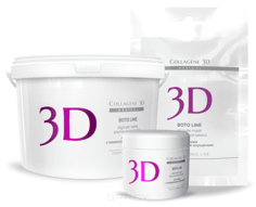 Collagene 3D, Альгинатная маска для лица и тела Boto Line с аргирелином, 30 г