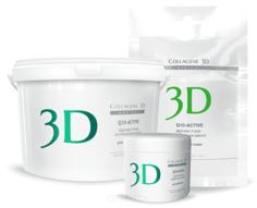 Collagene 3D, Альгинатная маска для лица и тела Q10-Active с маслом арганы и коэнзимом Q10, 30 г