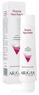 Aravia, Паста-эксфолиант для лица с энзимами Enzyme Face Polish, 100 мл