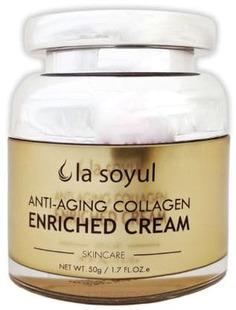 La Soyul, Anti-Aging Collagen Enriched Cream Крем для лица с коллагеном, антивозрастной, 50 гр