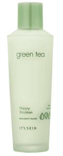 Its Skin, Green Tea Watery Emulsion Эмульсия для жирной и комбинированной кожи Итс Скин Зеленый чай, 150 мл
