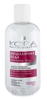 Кора, Мицеллярная вода для всех типов кожи, включая чувствительную, 300 мл