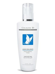 Collagene 3D, Тоник для лица увлажняющий Aqua Balance, 250 мл