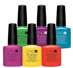 CND (Creative Nail Design), Гель-лак UV Shellac шеллак (58 оттенков) 005 Tropix