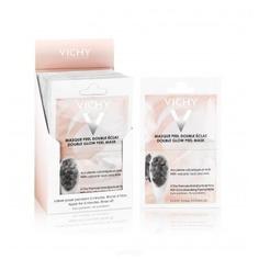"""Vichy, Минеральная маска-пилинг """"Двойное сияние"""", 2 х 6 мл, саше"""