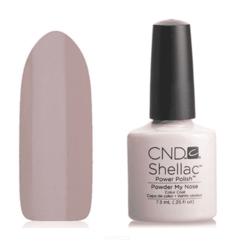 CND (Creative Nail Design), Гель-лак UV Shellac шеллак (58 оттенков) Open Road Powder My Nose