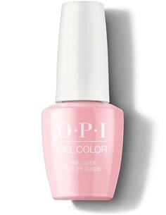 OPI, Гель-лак GelColor, 15 мл (229 цветов) Pink Ladies Rule the School / Grease