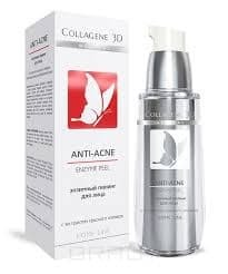 Collagene 3D, Гель-пилинг для лица энзимный Anti-Acne, 30 мл