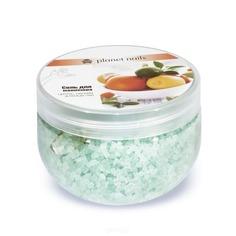 Planet Nails, Соль для маникюра Цитрус и зеленый чай, 350 г