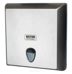 Igrobeauty, Диспенсер для листовых полотенец ASTER PRO HT, 300х105х290, сатин