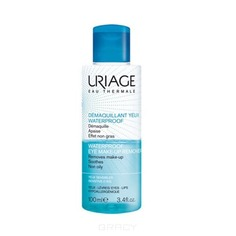 Uriage, Средство для снятия водостойкого макияжа с глаз, 100 мл