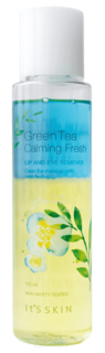 Its Skin, Green Tea Calming LIp&Eye Cleansing Remover Средство для снятия макияжа с глаз и губ Ит Скин, 125 мл