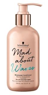 Schwarzkopf Professional, Кондиционер для всех типов волнистых волос Mad About Waves Windswept Сonditioner, 250 мл