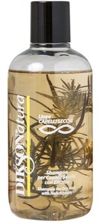 Dikson, Шампунь с экстрактом бессмертника для сухих волос Natura Shampoo per capelli Secchi With Helichrysum, 250 мл
