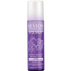 Revlon, Несмываемый 2-х фазный кондиционер для блондированных, обесцвеченных, мелированных и седых волос Instant Beauty Blond Detangling Conditioner Equave, 200 мл