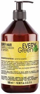Dikson, Шампунь для сухих волос Everygreen Dry Hair Shampoo Nutriente, 500 мл