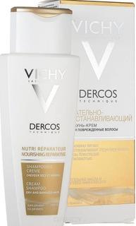 Vichy, Шампунь-крем питательно-восстанавливающий для сухих и поврежденных волос Dercos, 200 мл