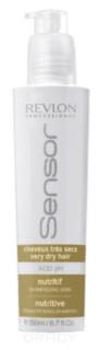 Revlon, Питательный шампунь-кондиционер для очень сухих волос Sensor Nutritive Shampoo, 200 мл