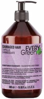 Dikson, Кондиционер для поврежденных волос Everygreen Damaged Hair Condizionante Rigenerante, 500 мл