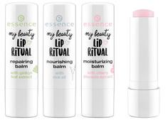 Essence, Бальзам для губ My Beauty Lip Ritual Balms, 4.8 гр (3 варианта), №01, восстанавливающий