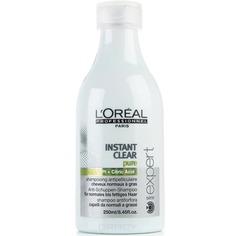 LOreal Professionnel, Шампунь против перхоти для нормальных и жирных волос Serie Expert Instant Clear
