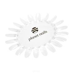 Planet Nails, Палитра для лаков ромашка прозрачная с логотипом Планет Нейлс