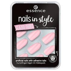 Essence, Накладные ногти на клейкой основе Nails In Style (6 вариантов) №08, розовый
