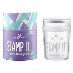 Essence, Набор для дизайна ногтей Stamp It! Clear Stampy Set