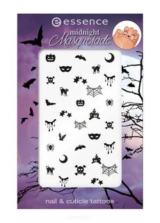Essence, Наклейки для дизайна ногтей и кутикулы Midnight Masquerade