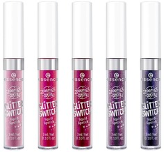 Essence, Жидкая помада-глиттер Cosmic Cuties Glitter, 3 мл (5 тонов), №01, пастельно-розовый