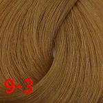 Estel, De Luxe Крем-краска для волос Базовые оттенки Эстель Cream, 60 мл (151 оттенок) 9/3 Блондин золотистый