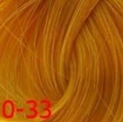 Estel, Краска для волос Princess Essex Color Cream, 60 мл (135 оттенков) 0/33 Желтый
