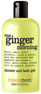 Treaclemoon, Гель для душа бодрящий имбирь One Ginger Morning Bath & Shower Gel, 500 мл