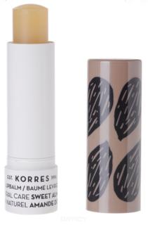 Korres, Бальзам-стик для губ натуральная защита Сладкий миндаль, 5 мл