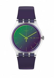 Часы Swatch POLAPURPLE (SUOK712)