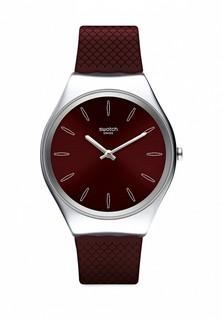 Часы Swatch SKINBURGUNDY (SYXS120)