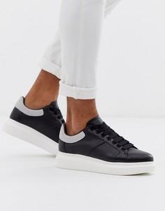 Черные кроссовки на массивной подошве Loyalty & Faith-Черный