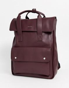 Бордовый рюкзак ASOS DESIGN-Красный