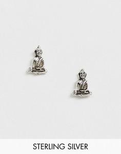 Серебряные серьги-гвоздики Kingsley Ryan-Серебряный