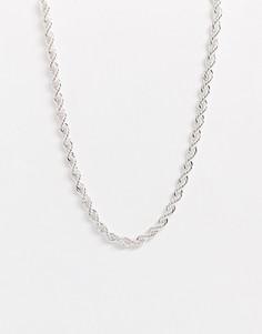 Серебристая цепочка Chained & Able-Серебряный