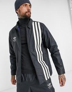 Черная куртка Adidas Snowboarding Civilian-Черный