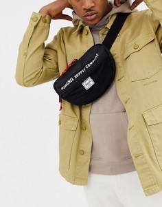 Черная сумка-кошелек на пояс объемом 3 л Herschel Supply Co Nineteen-Черный