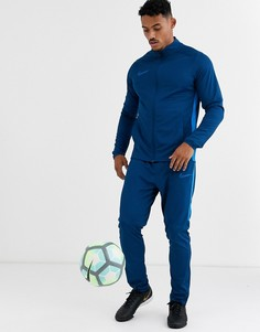 Синий спортивный костюм Nike Football academy