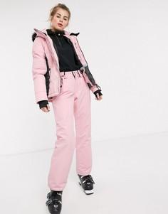 Розовые горнолыжные брюки Surfanic-Розовый