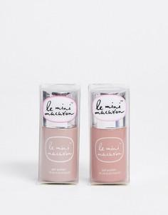 Эксклюзивный набор из двух гелевых лаков для ногтей Le Mini Macaron X ASOS - Spiced Chai + Rose Buttercream, СКИДКА 20%-Мульти